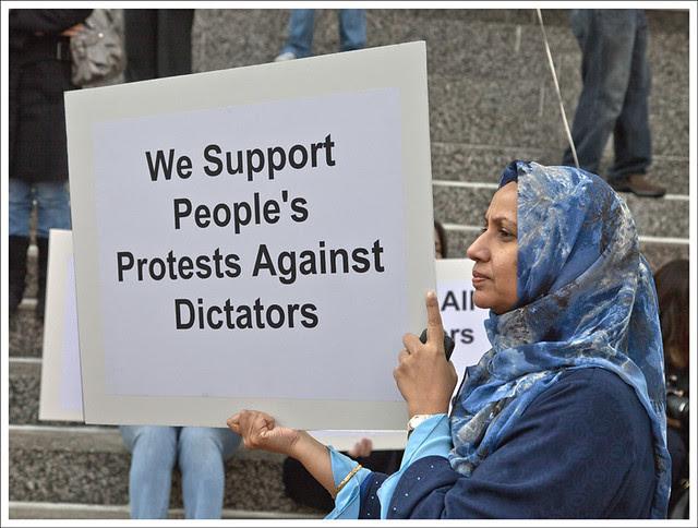 Pan-Arab Democracy Rally 7
