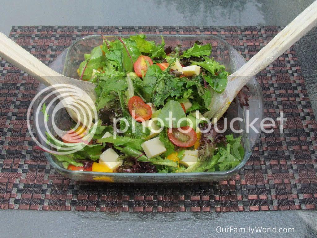 Mango-Cheese Salad