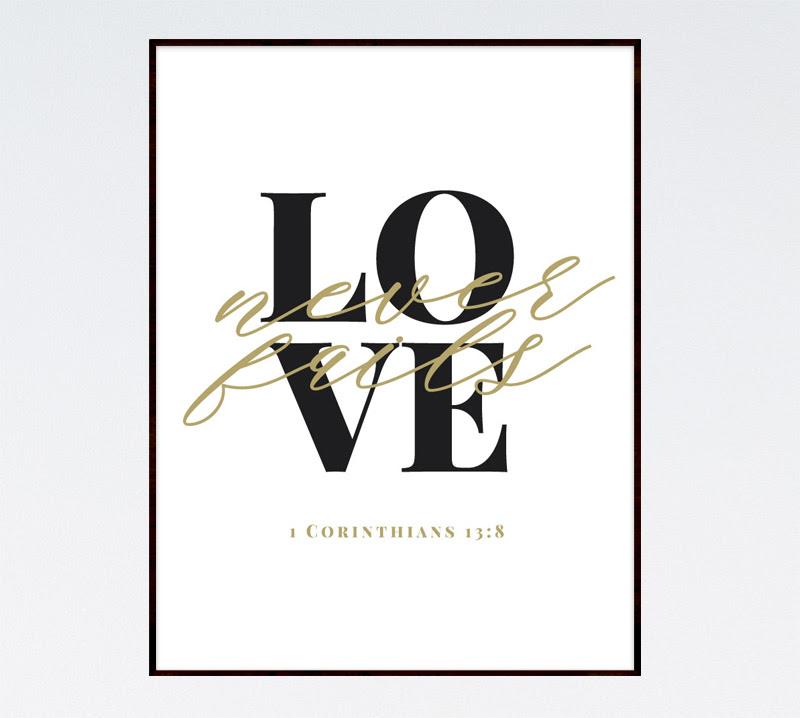 Love Never Fails 1 Corinthians 138 Seeds Of Faith