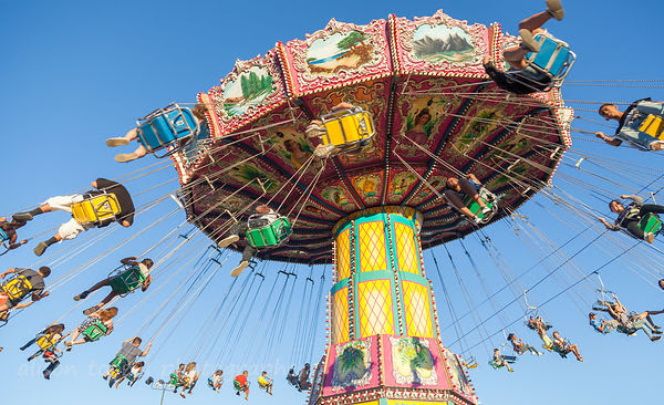 Tradional fairground ride