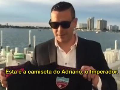 Roberto Saca presidente Miami United (Foto: Reprodução SporTV)