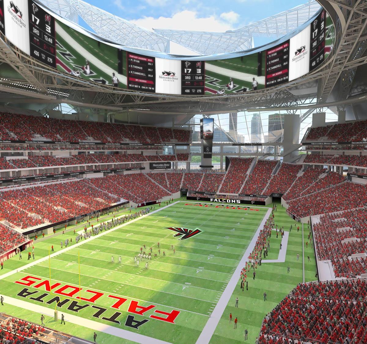 Preview: Mercedes-Benz Stadium - Football Stadium Digest