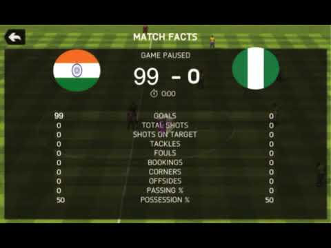 The Truth About The Nigeria VS India 99-1 Match