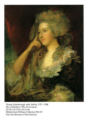 Gainsborough, Fitzherbert