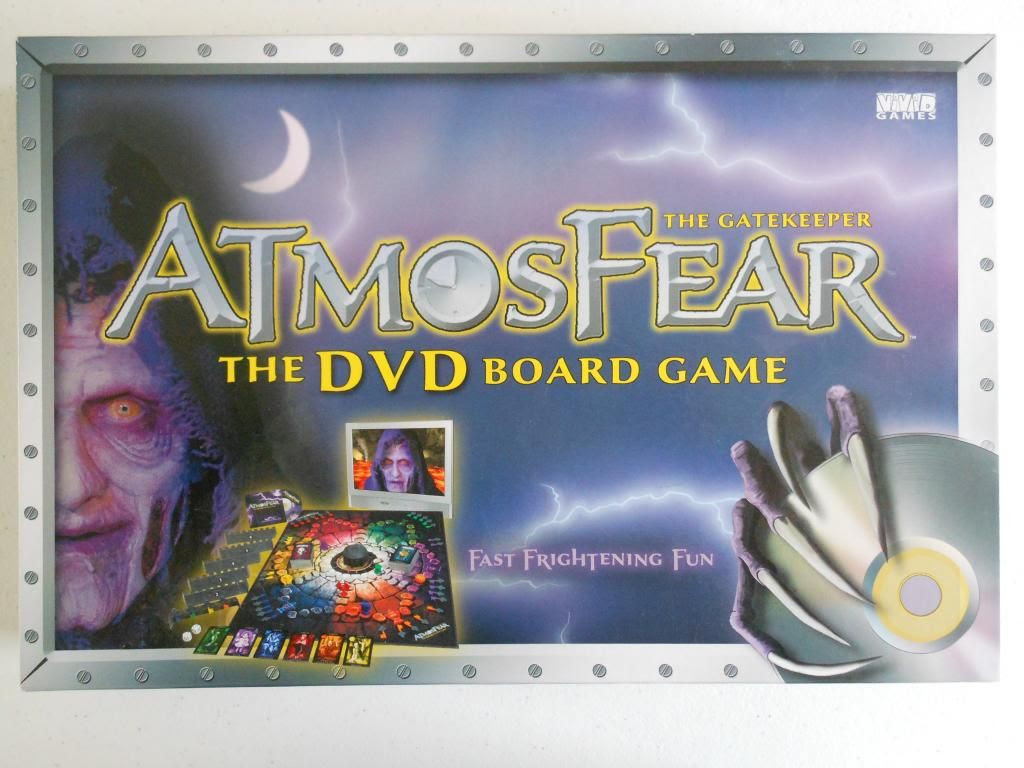 Atmosfear the DVD board game