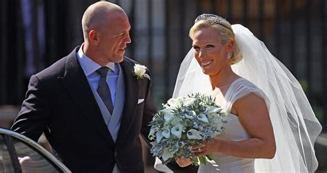 Zara Phillips and Mike Tindall's great royal romance   WHO