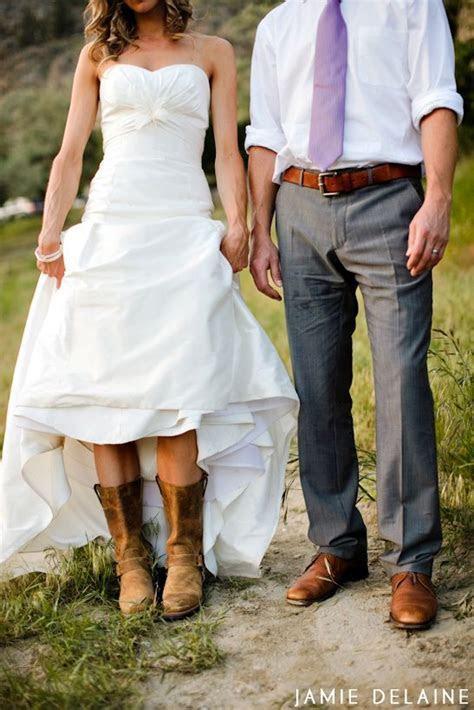 short wedding dresses with cowboy boots   cowboy boots
