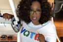 Georgia midterms: Oprah Winfrey denounces racist robocalls made in her name after she supported Democratic candidate