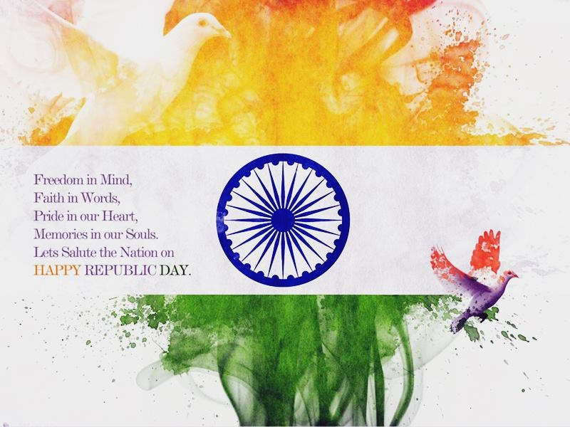 Happy Republic Day India Inspirational Quotes Pictures