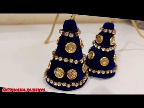 How to make Beautiful latkan at home For Blouse And Dress