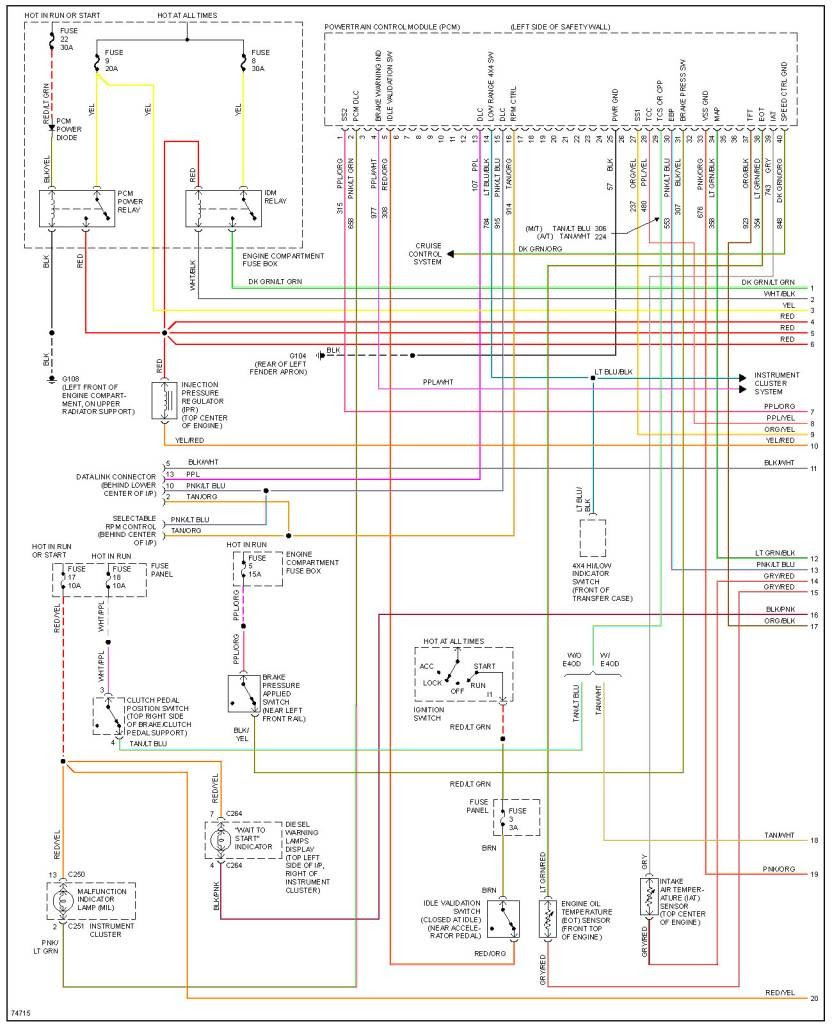 1995 Ford F250 7 3 Psd Wiring Diagram Patrick The Salvage Guy