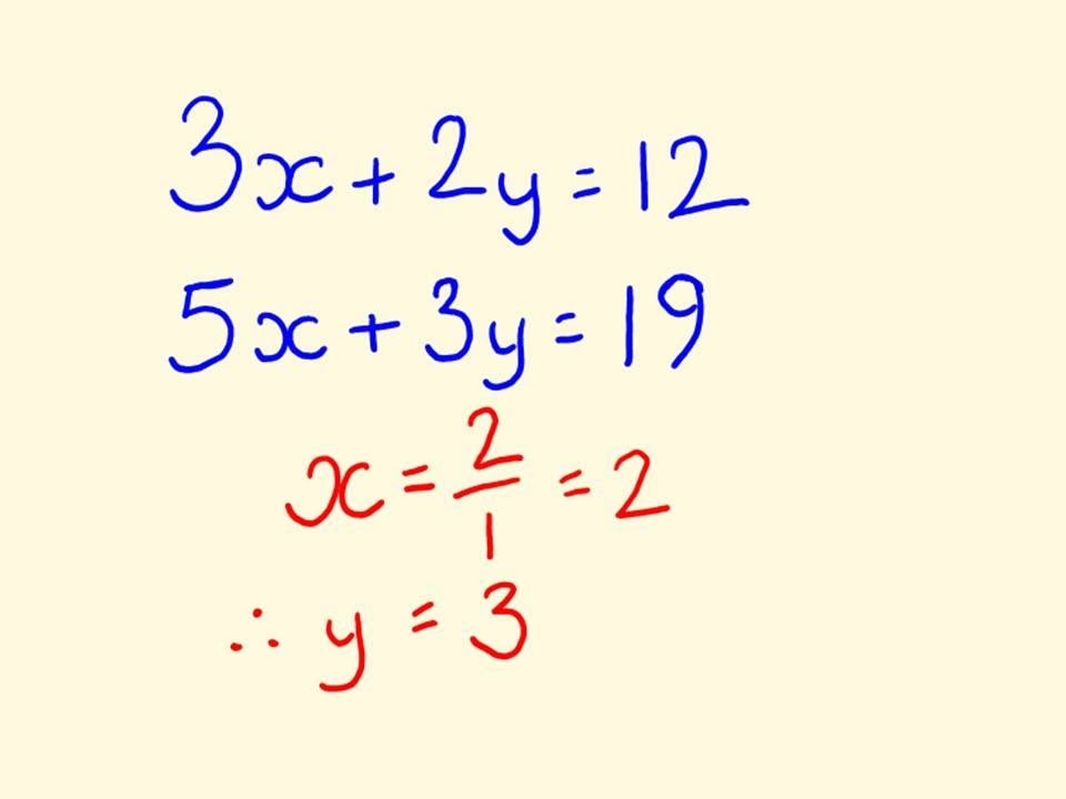 Pdf Word Problems Involving Simultaneous Equations