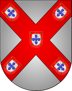 The Coat of Arms of the Duke of Bragança