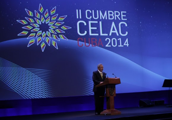 Raúl Castro en la inauguración de CELAC. Foto: Ismael Francisco/ Cubadebate