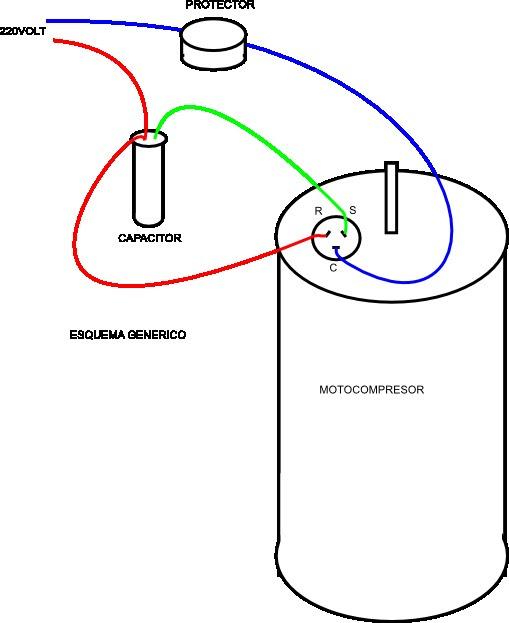 Resultado de imagen de conectar compresor aire acondicionado
