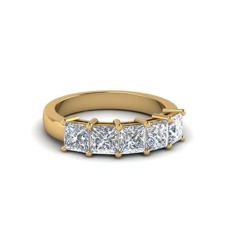 Buy Beautiful Princess Cut Womens Wedding Bands Online