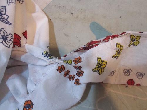 Hand Stitch Gap in Tie
