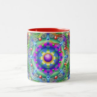 Mandala Universe Colors Mugs