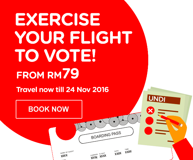 Exercise Your Flight To Vote!
