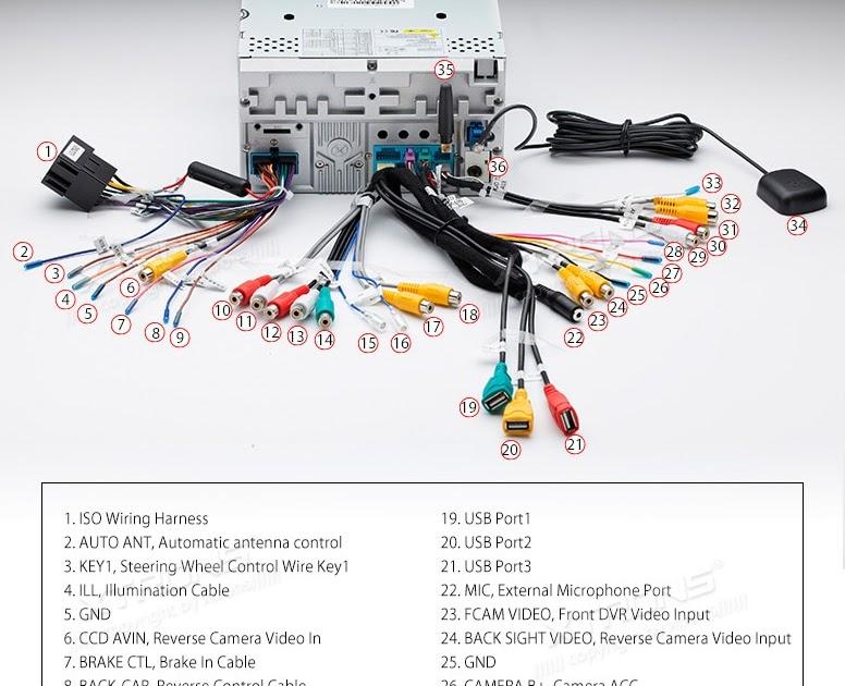 Xtrons Head Unit Wiring Diagram