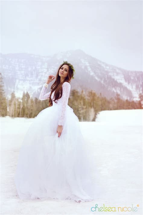 Mt Charleston Winter Wedding Style » Chelsea Nicole