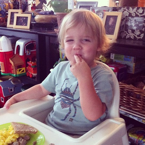 happy second birthday breakfast to finn!