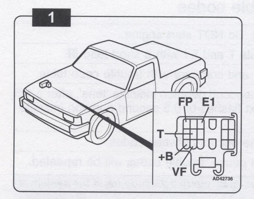Toyota 88 91 Pickup Or 4runner Troublecodes Net