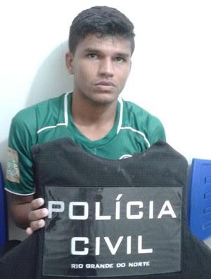 Thiago - zagueiro do Palmeira (Foto: Divulgação/Polícia Civil)