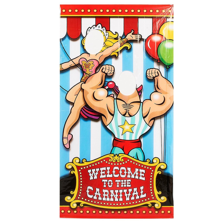 12 Fun Circus Carnival Party Games: Circus Birthday Party Props
