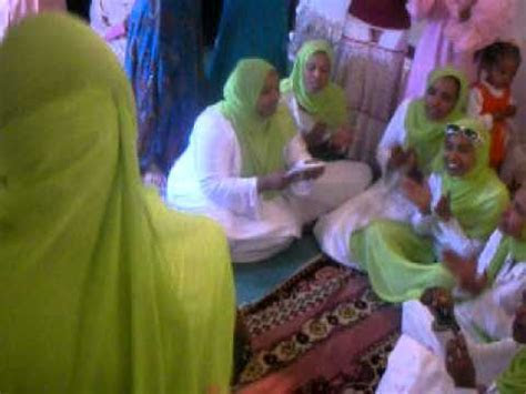 Ladies Menzuma ( Zikr ) at the brides house   Ethiopian