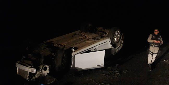 Acidente na rodovia que liga Cajazeiras a São José de Piranhas