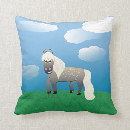 Party Marty! Throw Pillows