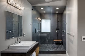 View 10 Modern Bathroom Tile Ideas Pictures