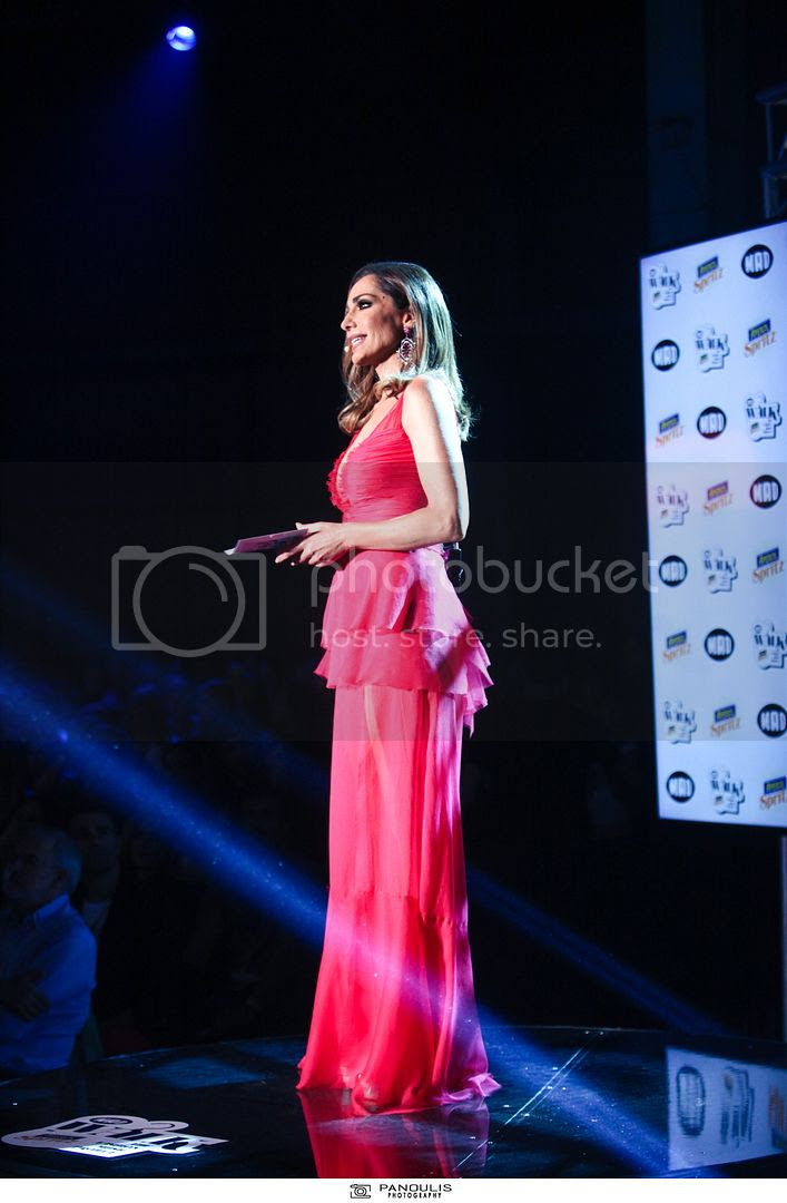 Despina Vandi in Maxi Pink Dress.jpg