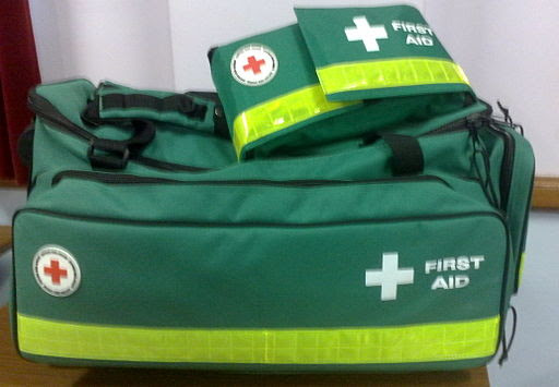 British Red Cross first aid kit