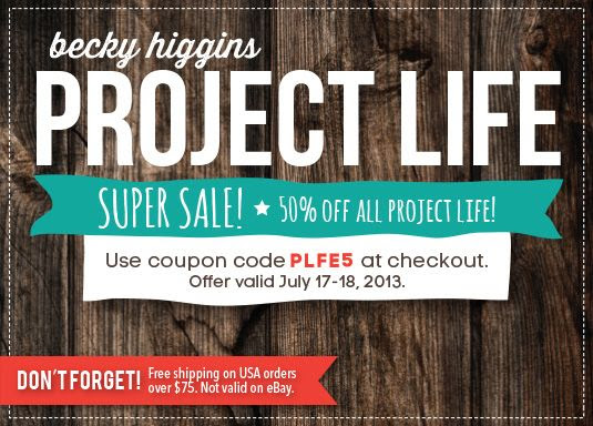Project Life Super Sale!