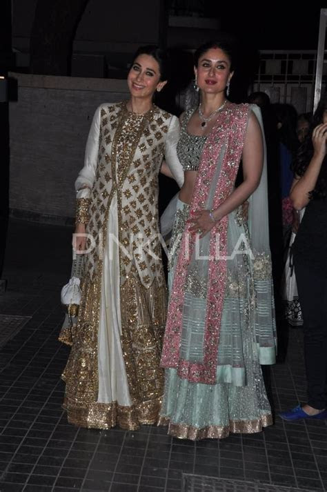 Karisma, Babita, Kareena, Saif at Soha's wedding reception