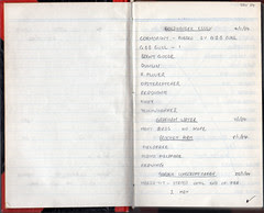 Birding Notebook 1