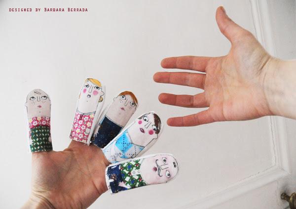 poupees doigts