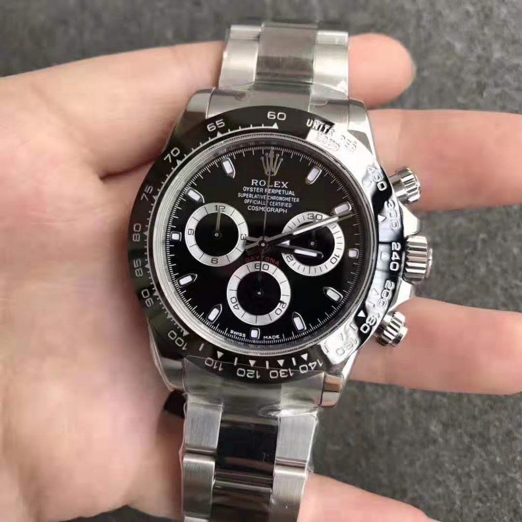 ARF Replica Rolex Daytona Black Ceramic