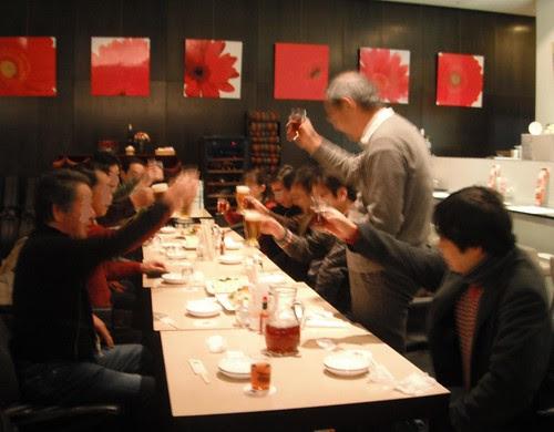 情報交換会で乾杯 2013年1月13日 by Poran111