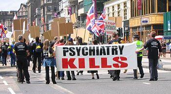 Scientology: anti-psychiatry demonstration in ...