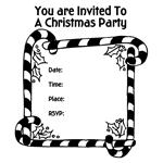 Free Christmas Party Invitation