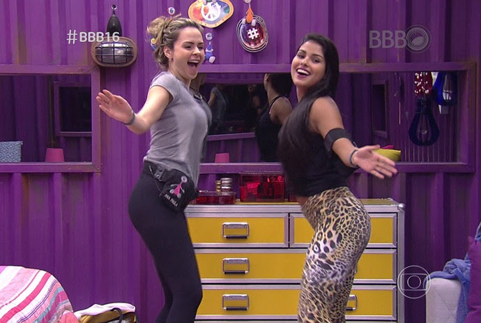 Ana Paula e Munik  (Foto: TV Globo)