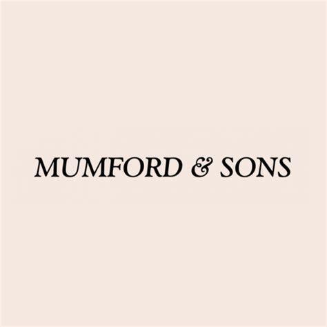 Mumford & Sons Logo Font