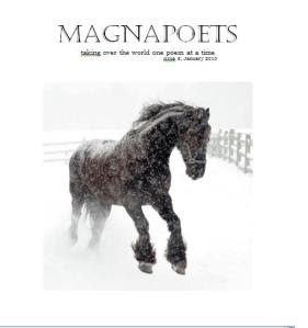 Magnapoets issue 5 cover, photo by Ben Kimball