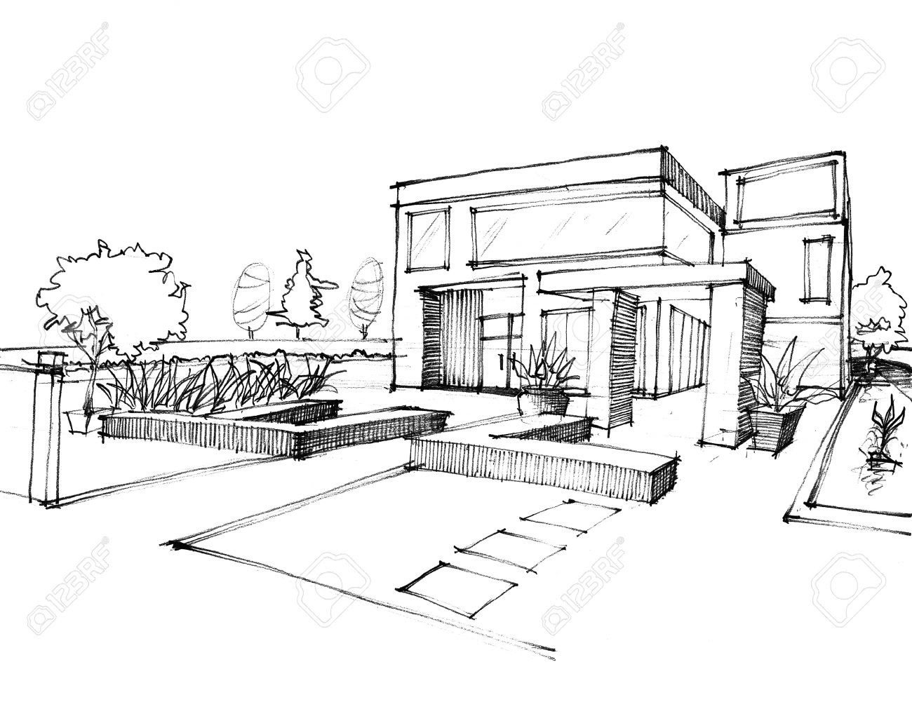 House Design Sketch