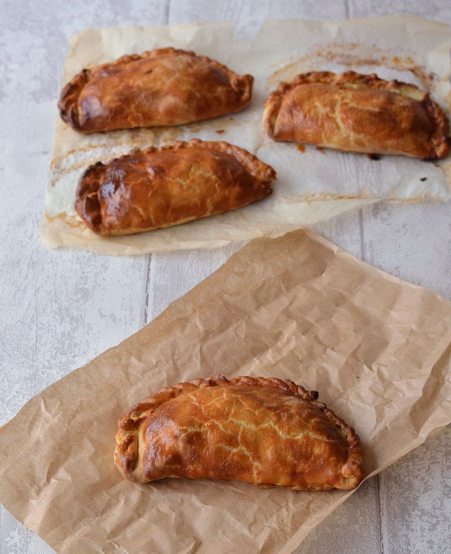 Cheese, Onion & Potato Pasties