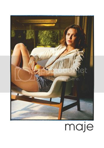 Catherine McNeil for Maje spring summer 2014 campaign