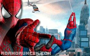 örümcek Adam Oyunları Oyna Spiderman 3 Inanılmaz Muhteşem